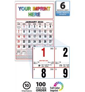 Almanac Calendar,Large