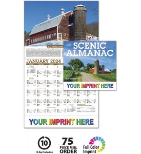 Scenic Almanac Calendar