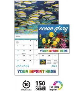 Ocean Glory Spiral Calendar