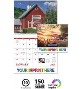 Celebrate America Spiral Calendar