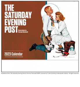 The Saturday Evening Post Stapled Calendar