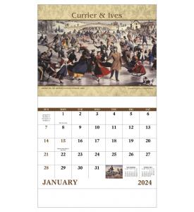 Currier & Ives Calendar