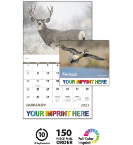 Wildlife Portraits Calendar