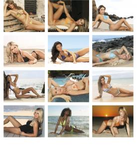 Swimsuits Calendar