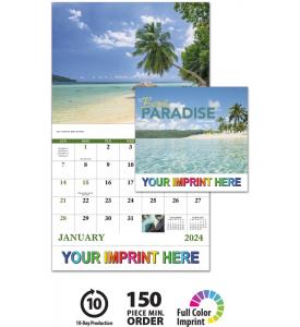 Beach Paradise Calendar