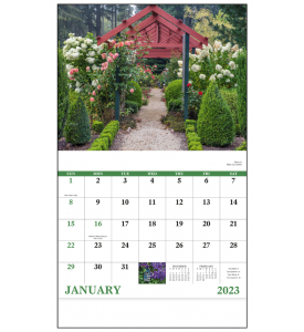 Garden Walk Calendar