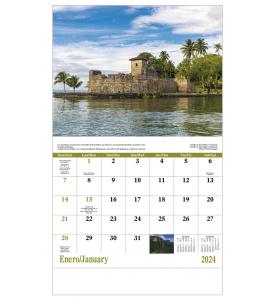 Latinoamerica en Paisajes Calendar