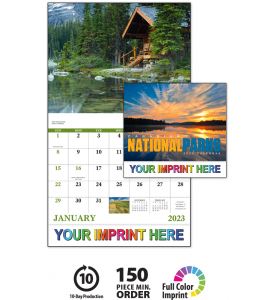 Canadian National Parks Calendar