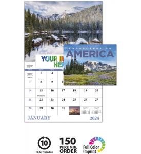 Landscapes Of America Window Calendar