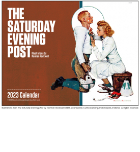The Saturday Evening Post Window Calendar