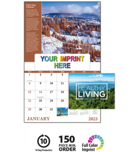 Healthy Living Window Calendar
