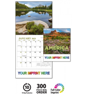 Landscapes Of America Mini Calendar