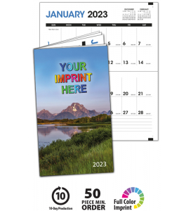 Colorful Impressions Monthly Pocket Planner - SCENIC