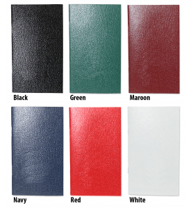 Affordable SEAM Colors Stitched Pocket Planner, Weekly