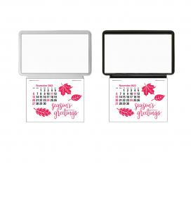 Vitronic Business Card Holder Calendar (Blank)