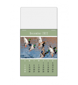 Vitronic Sportsmen Press-n-Stick™ Calendar