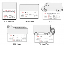 Warwick Easy Stick™ Calendars