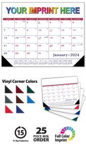 Custom Desk Pad Calendars Promotional Deskpad Blotter Calendars By
