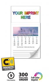 Business card magnet calendars promotional mbc calendars at tradenet mbc magnetic business card calendar colourmoves