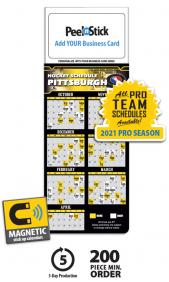 Business card magnet calendars promotional mbc calendars at tradenet magnetic business card pro hockey schedule blankbulk calendar colourmoves