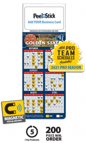 business card magnet calendars promotional mbc calendars at
