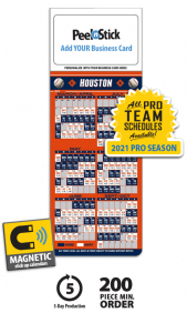 Business card magnet calendars promotional mbc calendars at tradenet magnetic pro baseball schedule blankbulk mbc calendar colourmoves