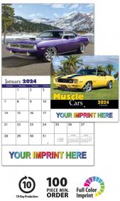 2020 Muscle Cars Calendar 1850 11 Quot X 19 Quot Imprinted