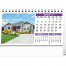 Homes Desk Tent Calendar