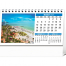 Scenes of America Desk Tent Calendar