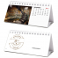 Image Personalized Individual Name Mini Desk Tent Calendar