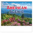 American Scenic Spiral Calendar