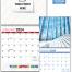 Custom Twin-Loop Jumbo Wall Calendar (12x24, 12-Month)