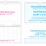 Custom TOP Twin-Loop Wall Calendar (8.5x11, 12-Month)