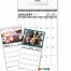 Custom Tear Sheet Single Photo Calendar (11x25.5, 12-Month)
