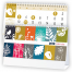 Colorful Seasons 6-Sheet Desk Calendar