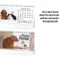 Furry Friends 6-Sheet Desk Calendar