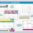 Custom Tear Sheet Single Photo Calendar (11x17, 12-Month)