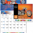 Motorcycle Mania Calendar