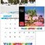 Scenes of California State Calendar