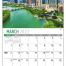 Scenes of Texas State Calendar
