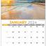 Sun, Sand and Surf Calendar