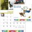 Norman Rockwell Wonderful World Calendar