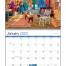 America Remembered Spiral Calendar