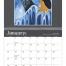 Native American Art Calendar