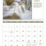 World Scenes with Recipe Calendars