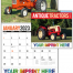 Antique Tractors Calendar