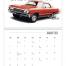 Classic Muscle Cars Calendar