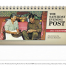 The Saturday Evening Post by Norman Rockwell Desk Calendar