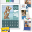 Norwood Full Color Stick Up, Swimsuits Calendar