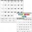 Contractor Memo Calendar, Black & White